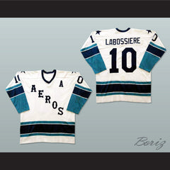 Gord Labossiere Houston Aeros Hockey Jersey NEW Stitch Sewn Any Player or Number - borizcustom - 3