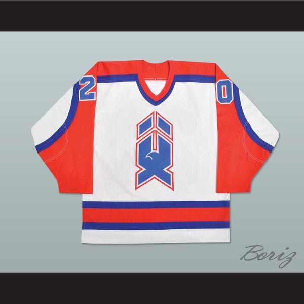 Dave Gagner AHL New Haven Nighthawks Hockey Jersey NEW Stitch Sewn - borizcustom