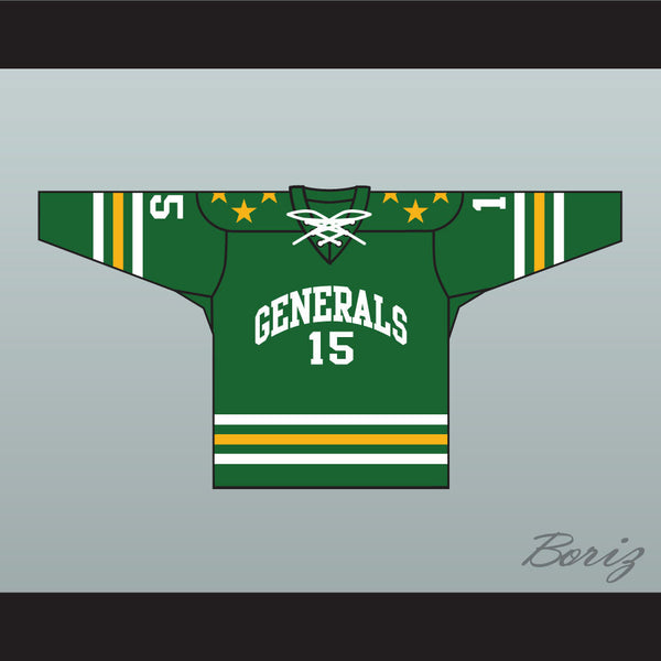 Greensboro Generals Tie Down ECHL Hockey Jersey NEW Stitch Sewn Any Player or Number - borizcustom