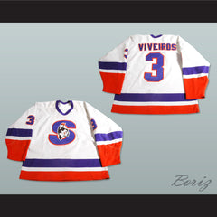 Emanuel Viveiros Springfield Indians AHL Hockey Jersey NEW Stitch Sewn Any Player or Number - borizcustom