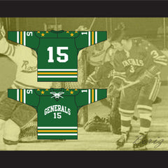 Greensboro Generals Tie Down ECHL Hockey Jersey NEW Stitch Sewn Any Player or Number - borizcustom - 3