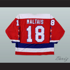 Steve Maltias Baltimore Skipjacks Hockey Jersey NEW - borizcustom - 2