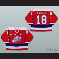 Steve Maltias Baltimore Skipjacks Hockey Jersey NEW - borizcustom - 3