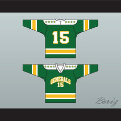 1960's Style EHL Greensboro Generals Green Hockey Jersey NEW Any Number - borizcustom