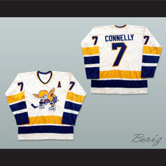 Wayne Connelly Minnesota Fighting Saints WHA Hockey Jersey New - borizcustom - 3