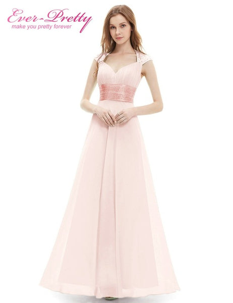 Peachy Pink Long Bridesmaid Dresses A Line One Shoulder Under 50 Ever