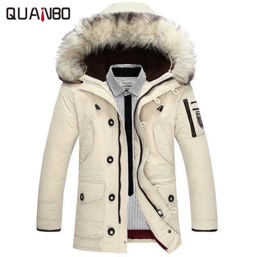 5e2c4d51110 2017 new brand clothing jackets thick keep warm men is down jacket high  quality fur collar