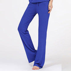 Modal Cotton Women Pants Trousers Solid Comfort  Exercise Casual Sweatpants Homewear