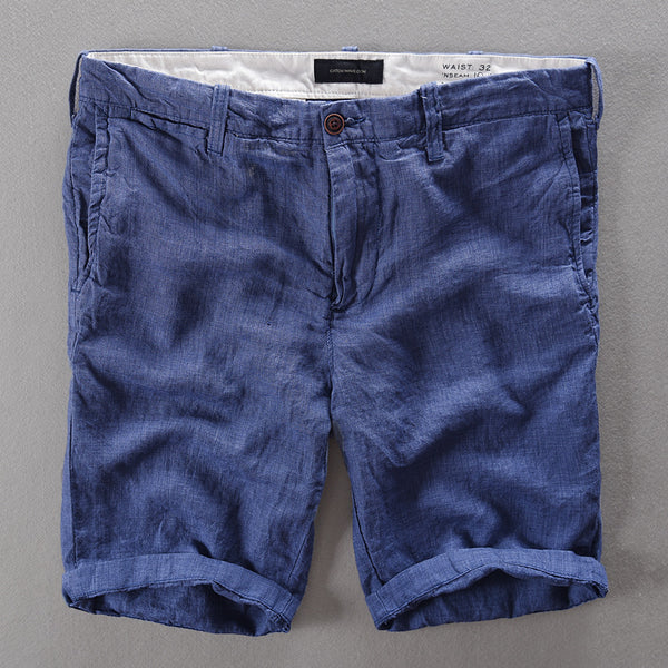 f0aad9ac31 French Casual Mens Shorts Brand Short Pants Men Fashion Short Trousers