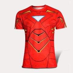 2016 Men Anime Deadpool 3d Print Fitness Crossfit T shirt Women Short Sleeve Superhero T-shirt Lady Deadpool Top
