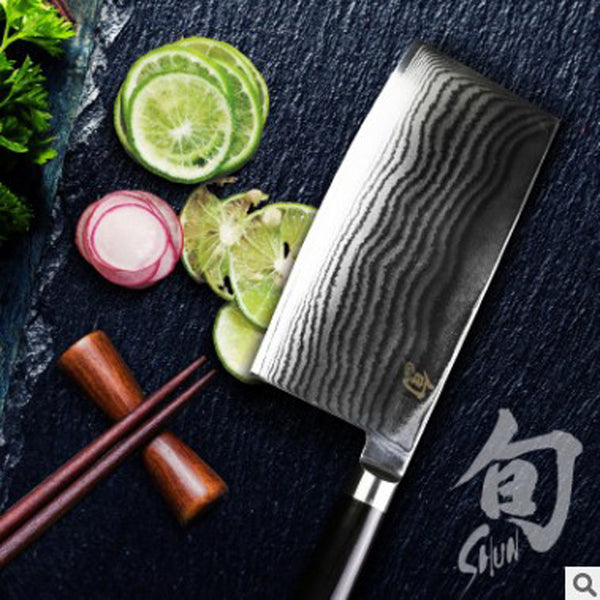 "8"" inches chef knife High quality 73 layers Japanese VG10 Damascus steel kitchen chef knife cleaver wood handle free shipping"
