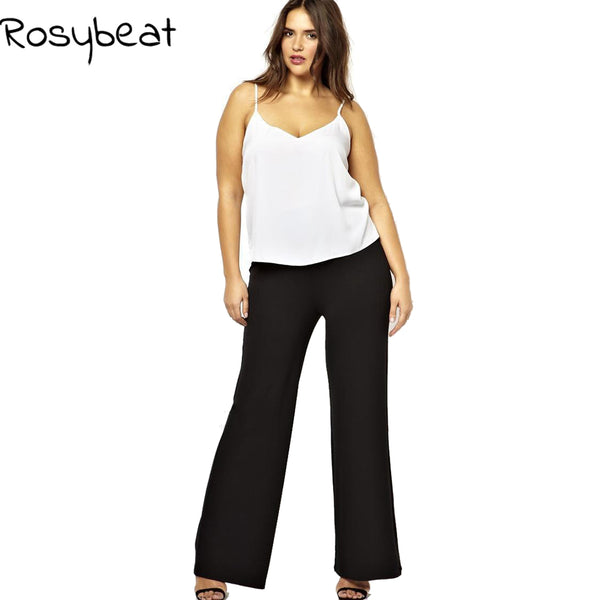 Plus Size 6XL Wide Leg Pants Large Size 5XL Women Trousers 2017 Big Si 607dc02a0