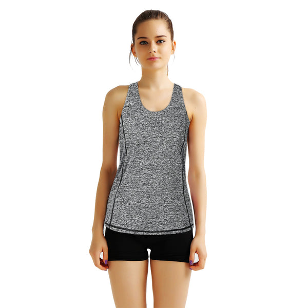 Summer Halter Cross Women Tank Tops Female Dry Quick Loose Fitness Vest Singlet for Exercise Women's Workout T-Shirts Back Knot