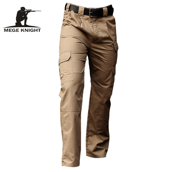 7e7f003372c Mege Brand Clothing Men Tactical Pants Army Military Casual Solid Multi  pockets Cargo Pants Wear Resistent Male Trousers Ripstop