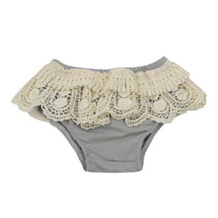 2017 Cute Baby Girls Infants Princess Kids Lace Ruffled PP Shorts Bloomers Diaper Cover Pants Summer Toddler PP Pants Diapers