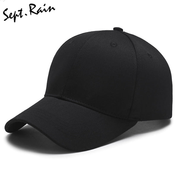 Summer Baseball Cap Women Men's Fashion Brand Street Hip Hop Adjustable Caps Suede Hats for Men Black White Snapback Caps