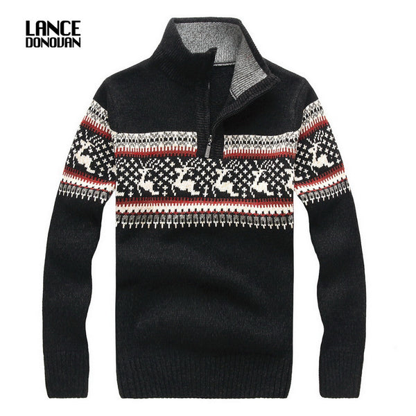Christmas Sweaters For Men.5 Colors 2016 Winter New Man Casual Christmas Sweater Men Turtleneck Pullovers Knitted Clothing Mens Sweaters