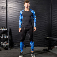 Men Pro Gymming Compression Long Johns Fitness Winter Quick Dry Male Autumn Sporting Sets Runs Workout Spring Thermal Underwear