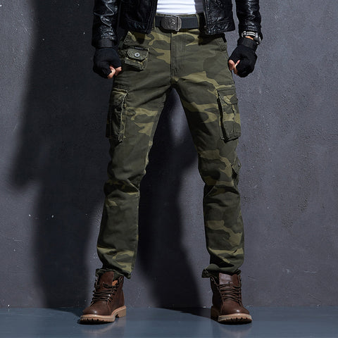 b7b502bcc3 Camouflage Military Pants Men Men s Cargo Army Trousers Mens Tactical  Militari Baggy Camo Pants Winter Warm