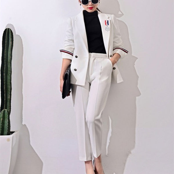 44927fad5e7 2017 New Formal Suits for Women Casual Office Business Suitspants Work