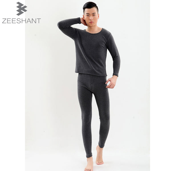 6XL 7XL New 2018 Autumn-winter Men Thermo Thermal Qiuyi Qiuku Plus Size Long Johns Brand Male Clothing Sets in Men's Long Johns