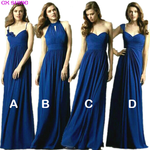 CX SHINE New Custom color   Size! Sweet 4 style long Bridesmaid Dresse 3ff5002def3f