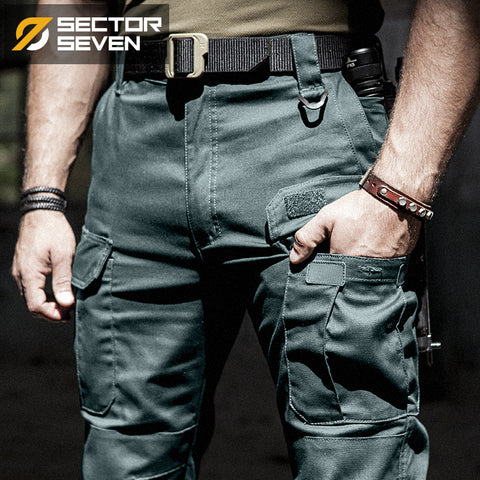 fce041c0 2018 New IX5 tactical pants men's Cargo casual Pants Combat SWAT Army  active Military work Cotton