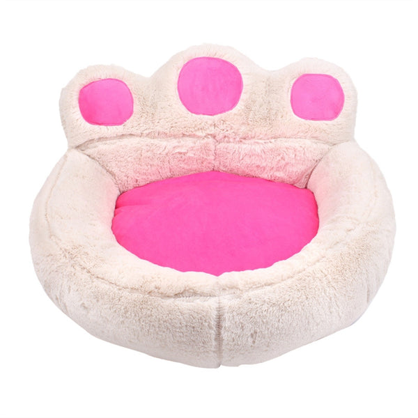 Cool Bears Paw Pet Dog Cat Bed House Soft Warm Kennel Nest Snuggly Pet Sleep Mat Sofa Teddy Doghouse For Small Dog Puppy Cat Kitten Size S 56 X 52 Cm Lamtechconsult Wood Chair Design Ideas Lamtechconsultcom