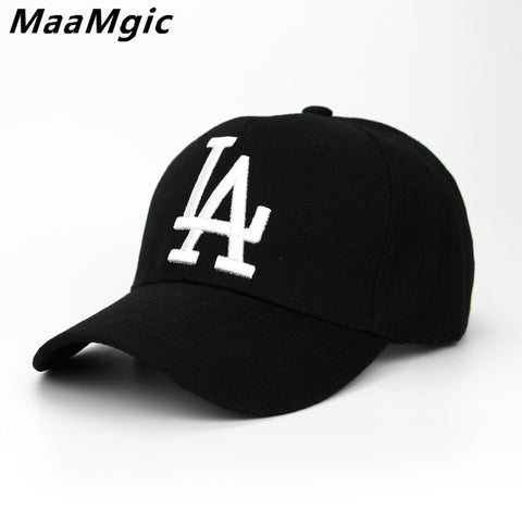 295c215e07d54e 2018 New letter Baseball Caps LA Dodgers Embroidery Hip Hop bone Snapback  Hats for Men Women