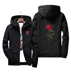 2018 spring and autumn Embroidered men's jacket  thin windbreaker men women jaqueta masculina college jackets