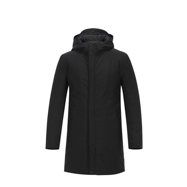 228bd78a1 Enjeolon Brand Cotton Padded Jacket long hoodies coat Men Parka black Thick  Quilted fashion plus size 3XL Coat Men MF0624