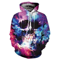 Hot Hoody 3d Skull Hoodies Men/Women Fashion Spring Sportswear Hip Hop Tracksuit Unisex Brand Funny 3D Hooded Sweatshirt
