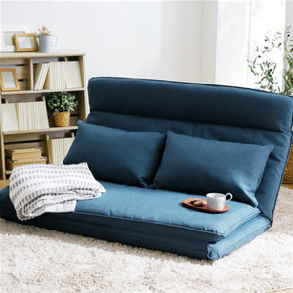 Enjoyable Living Room Futon Chair Sofa Bed Furniture Japanese Floor Legless Modern Fashion Leisure Fabric Reclining Futon Sofa Chair Bed Gamerscity Chair Design For Home Gamerscityorg