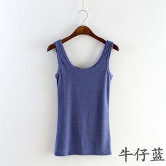 2018 Summer Tank Top for Women Camisole Cotton Slim Ladies Thin Vest Strappy Bralette Fashion Sexy Women Tops