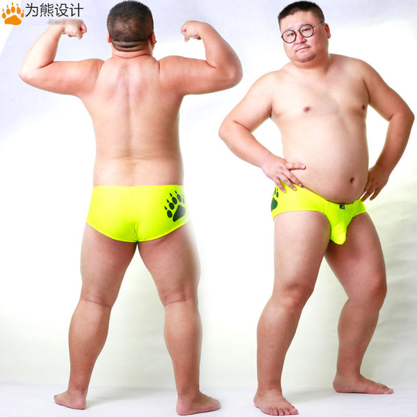 d4b1ae4d67 Arrival Bear Claw Plus Size Men's Bulge Enhancing Briefs Gay Bear Shor