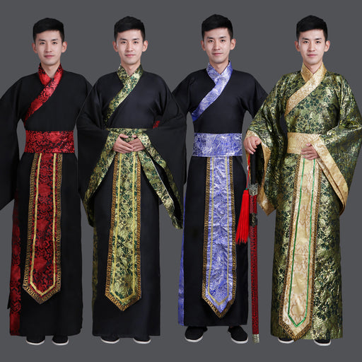 Ancient Chinese Costume Men Stage Performance Outfit for Dynasty Men Hanfu Costume Satin Robe Chinese Traditional  sc 1 st  Boriz Jerseys & 2018 new kungfu uniforms chinese traditional men clothing tang costume