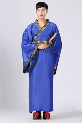 ... 2018 Ancient Chinese Costume Men Stage Performance Outfit for Dynasty Men Hanfu Costume Satin Robe Chinese ...  sc 1 st  Boriz Jerseys & 2018 Ancient Chinese Costume Men Stage Performance Outfit for Dynasty
