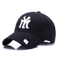 Black Adult Unisex Casual Baseball Caps fashion Snapback hats for men women black  sport gorras   my cap