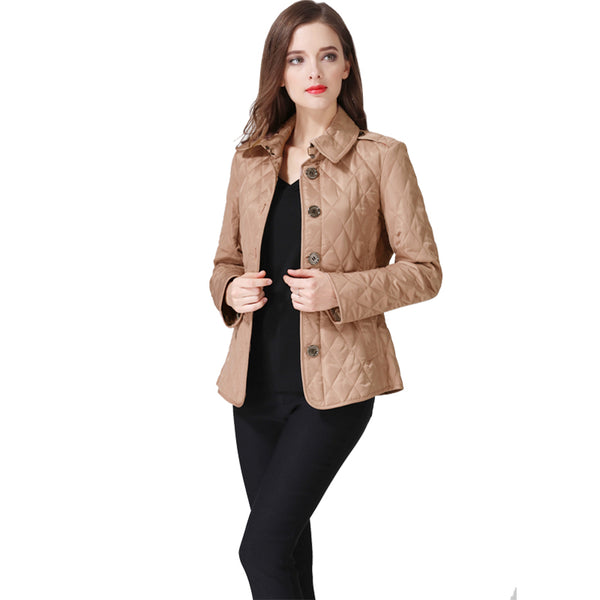 2018 High Quality Women's Jackets Slim Jaqueta Feminina Solid Color Casacos Femininos Big Size M to 3XL