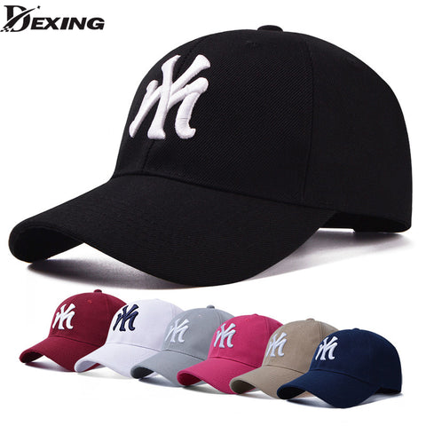 5057342d4c3 Black Adult Unisex Casual Baseball Caps fashion Snapback hats for men women  black sport gorras my