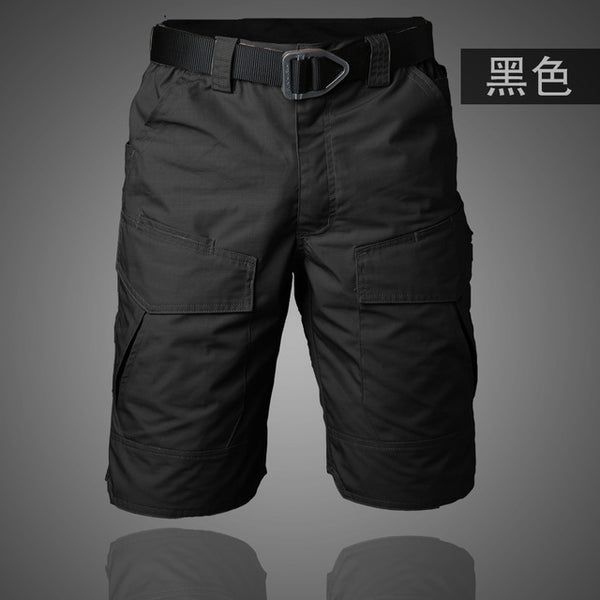 48269e96c34 Summer Military Waterproof Shorts Tactical Cargo Men Teflon Camouflage Army  Military Short Male Pockets Rip-stop Casual Shorts