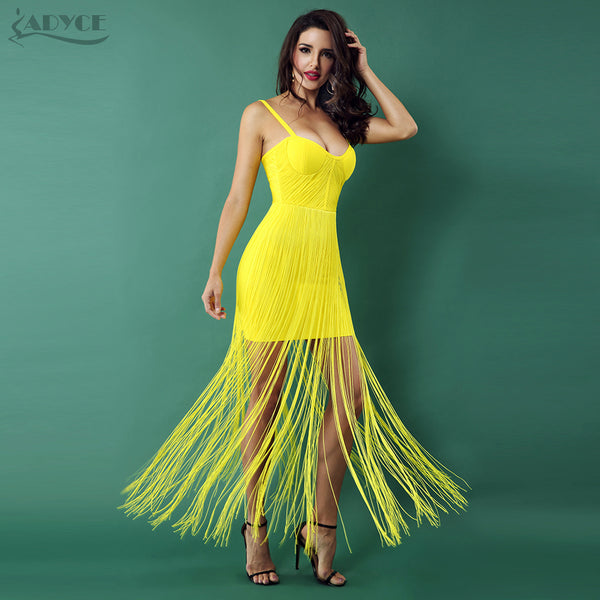 Yellow Formal Party Dresses for Women