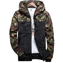 Floral Bomber Jacket Men Hip Hop Slim Fit Flowers Pilot Bomber Jacket Coat Men's Hooded Jackets Plus Size 4XL ,