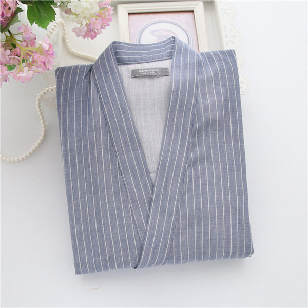 373c9d2d16 ... Cotton Yukata Japanese Kimono Men Pajamas Sleepwear Mens Cotton Kimono  Robe and Pants M L Size ...