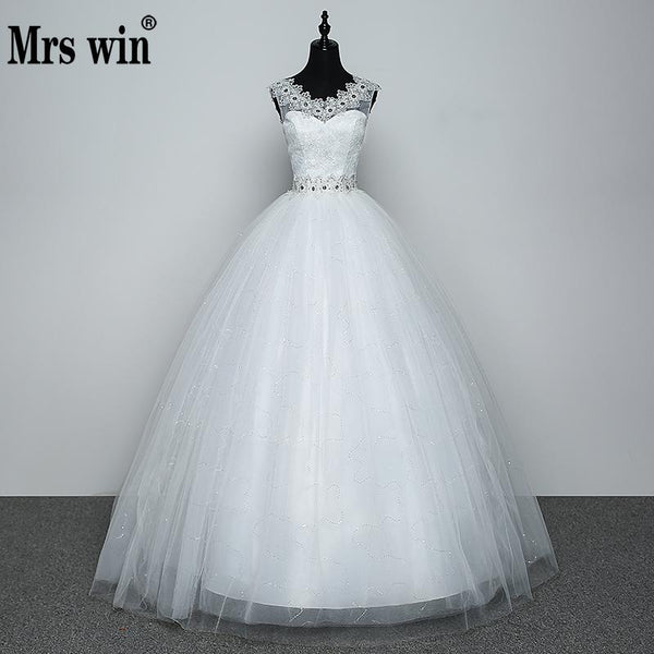 Real Photo Wedding Dress 2018 Hot Sale Applicue