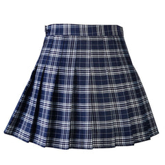 Women Pleat Skirt Harajuku Preppy Style Plaid Skirts Mini Cute School Uniforms Ladies Jupe Kawaii Skirt Saia Faldas SK8710