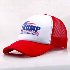 JTVOVO Trump hat make america great again mesh Baseball Cap women Snapback Hat Outdoor Sports Hats Trucker Hat Men casual caps