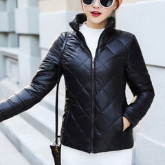 Winter Coat Female Coats Parkas Cotton Padded Jackets Casual Thin Plus Size Light Basic Jacket Outerwear Coats Drop Shipping