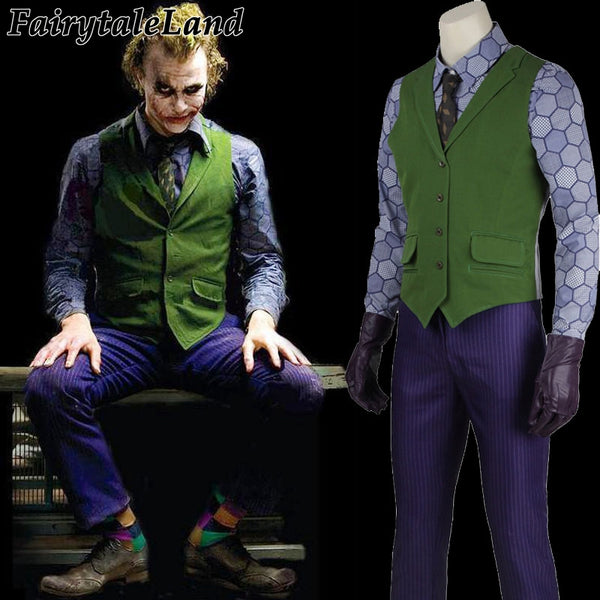 product image halloween costumes for men joker jacket batman the dark knight joker cosplay costume carnival cosplay fancy