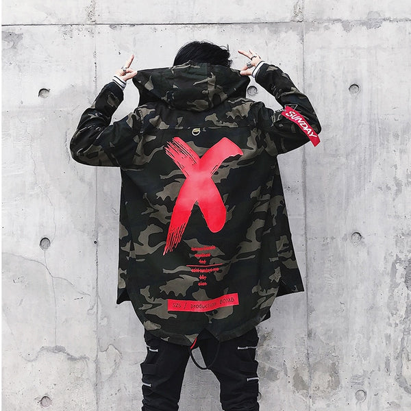 VERSMA High Street Ribbon Patchwork Camouflage Men Bomber Jacket Coat Autumn Harajuku Pilot Flight Biker Jackets Men Dropshippin